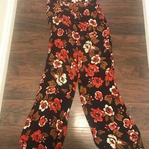 Amuse Society floral pants